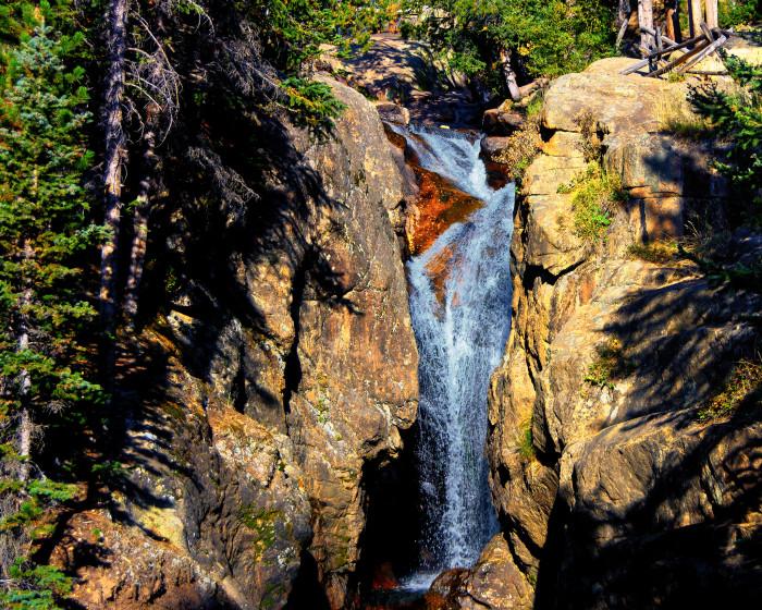 7. Big Fiddler Creek/Long Gulch Falls, Elmore County