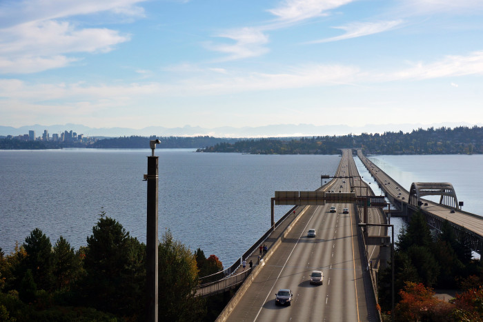 4. We have four of the longest and heaviest floating bridges in the world.