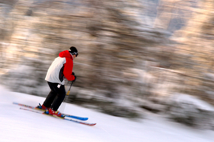 5. You spend a significant time each winter doing this:
