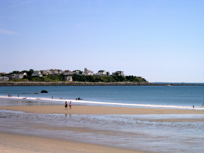 3. The beach.