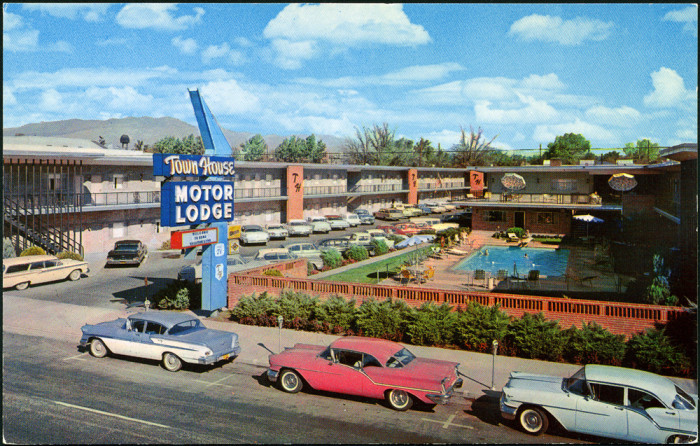 13 photos of nevada in the 1960s for Town house motor inn