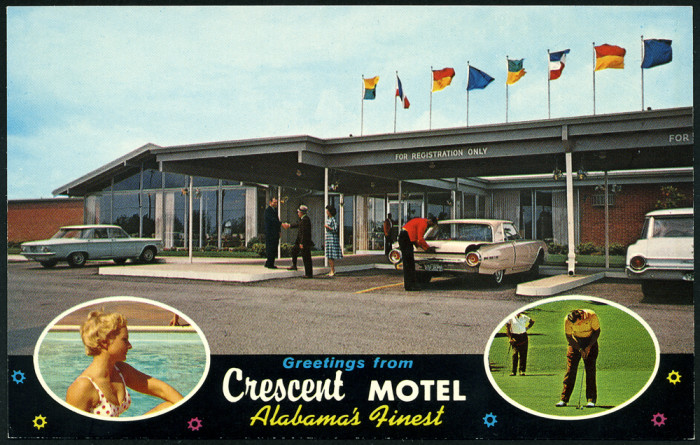 1. Greetings from Crescent Motel - Decatur, AL