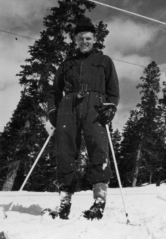 "3. ""Skiing at Berthoud Pass, Colorado, 1950."""