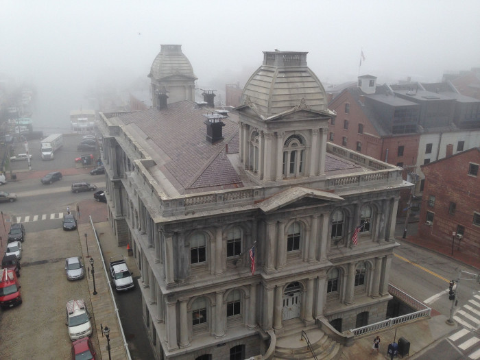 8. The Customs House in Portland is almost certainly haunted. Have you been inside?