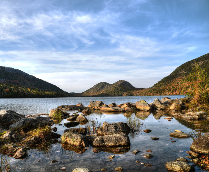 """9. """"In a world where Jordan Pond is actually a habitat full of mystical fairies. And the bubbles are sleeping giants..."""" Actually, that could be true."""