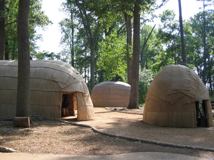 10. Powhatan Indian Villages (Jamestown)