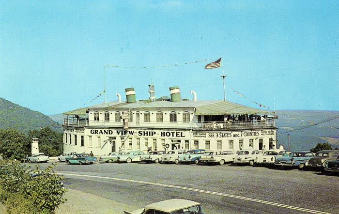 "23. ""Grand View Ship Hotel, Located 17 Miles West of Bedford, Pennsylvania, on Highway 30"""
