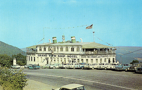 1. The Grand View Ship Hotel, 17 miles west of Bedford was popular in the 60s; in 2001, it burned down.