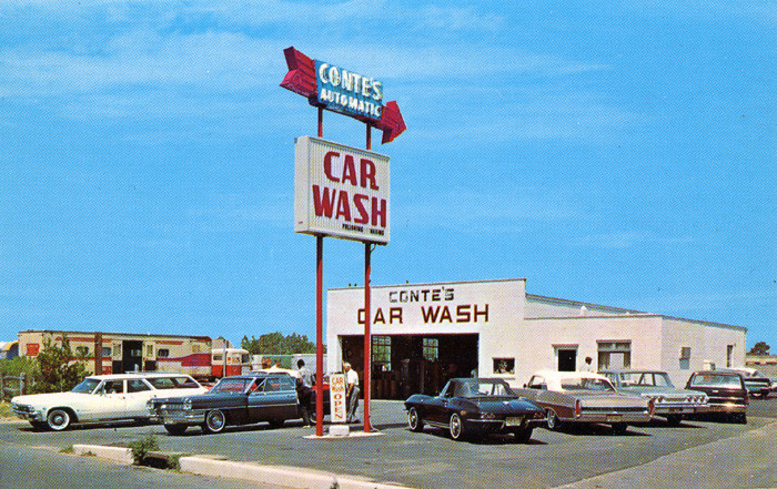 7. Conte's Automatic Car Wash at 684 Joline Ave., Long Branch, circa the 1960s.
