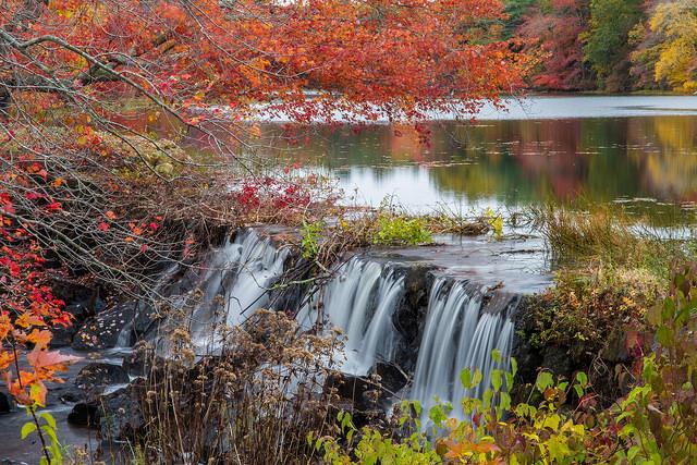 8. Kenyon Mill Falls, South Kingstown