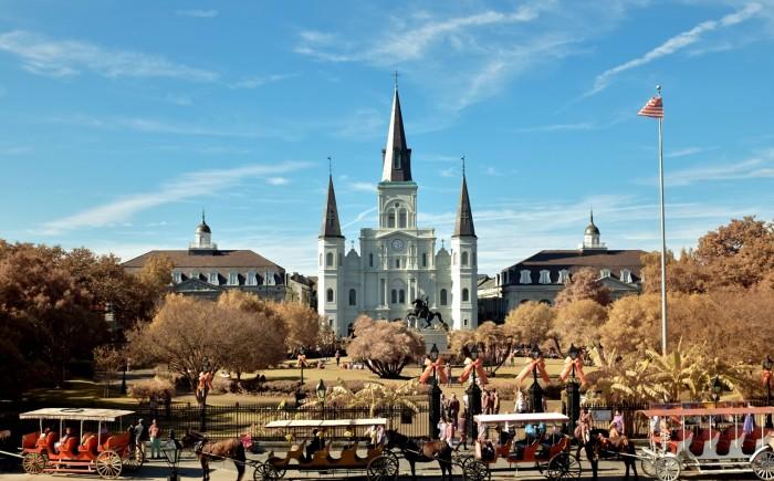 11. Jackson Square, New Orleans