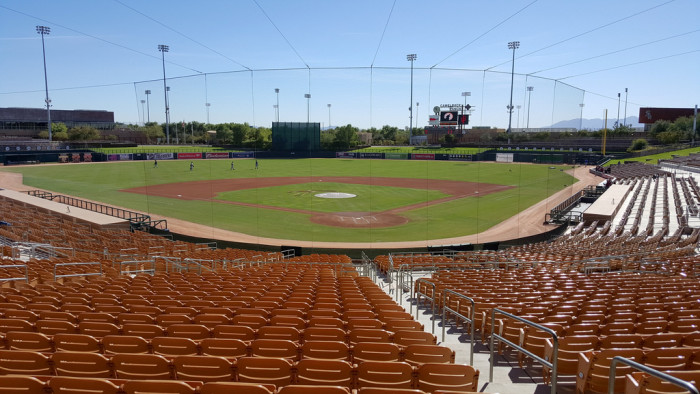 9. It's also where you can enjoy spring training, which is just around the corner.