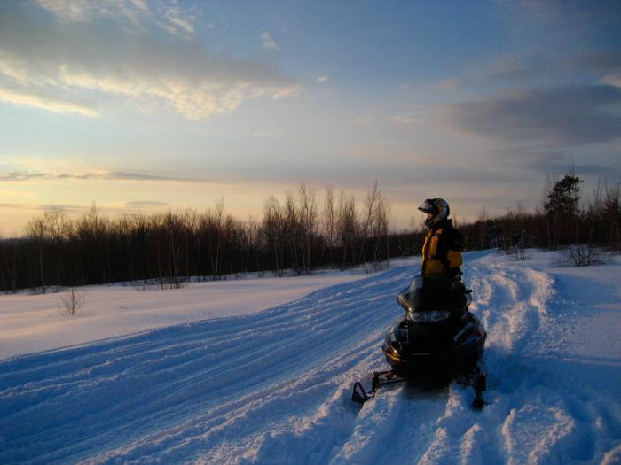 5. Snowmobiles