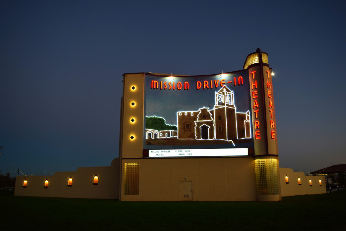 4. Drive-in movies