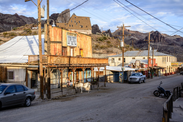 11. Pay a visit to Oatman for a ghost town experience.