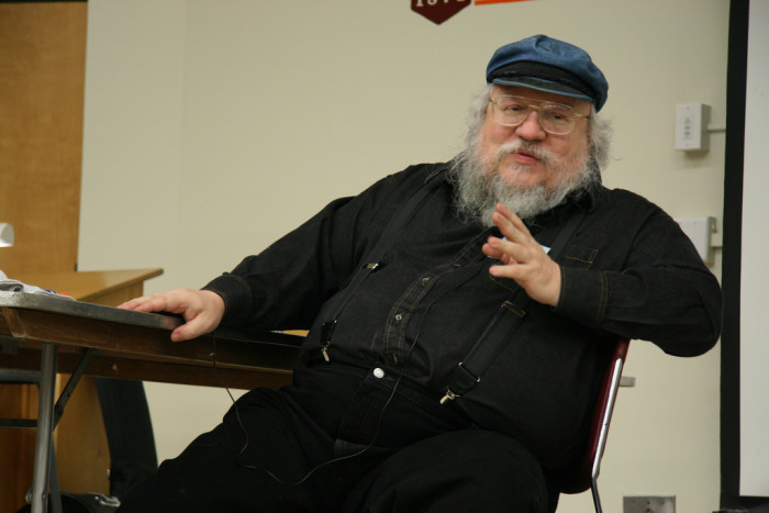 8. New Mexico is home to famous folk such as George R. R. Martin.