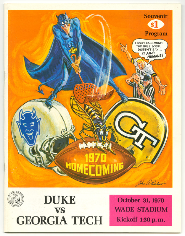 1. A Rivalry on October 31, 1970.