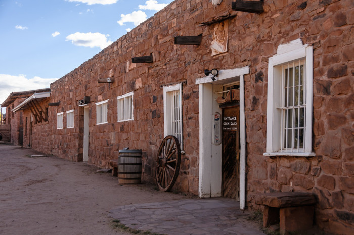 17. This old trading post in Ganado is still in operation and the homestead is now a national historic site.