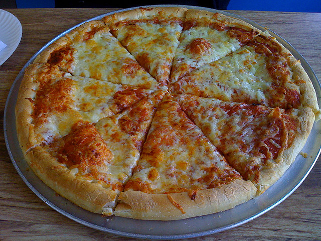 9. A pizza in Rhode Island is probably better than a pizza from just about anywhere else.