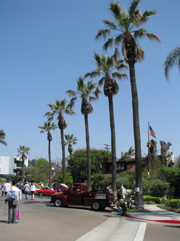10.  Coronado, CA