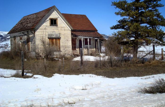 16. An abandoned home in Auburn.