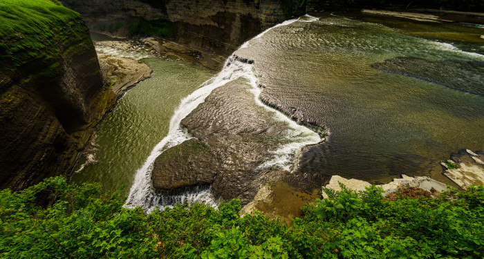 5. One of the several beautiful waterfalls of Letchworth State Park.
