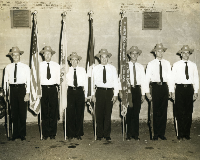 1. New Jersey American Legion Parade Champions, Sr. Color Guard. Bayonne, 1961.