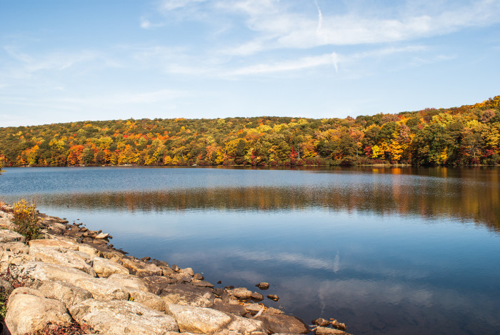 4. New York's second largest park, Harriman State Park has nearly fifty thousand acres for you to explore.