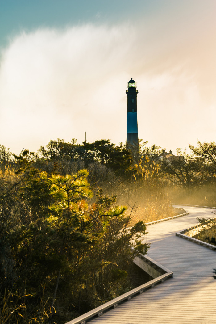 3. New York's island with head-turning views, the Fire Island lighthouse is a must-visit for any resident.
