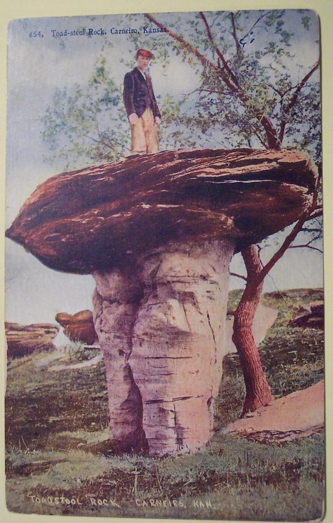 11. Mushroom Rock State Park (Brookville, Date Unlisted)