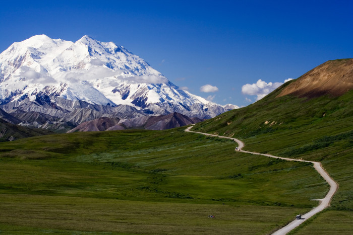 6. Denali is Alaska's pride and joy, of course we'd recognize it!