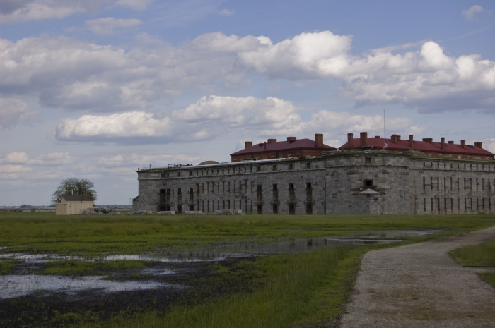C. Fort Delaware, Delaware City