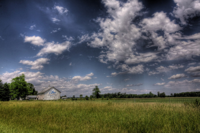 11. Bicentennial Barn near Carey, OH