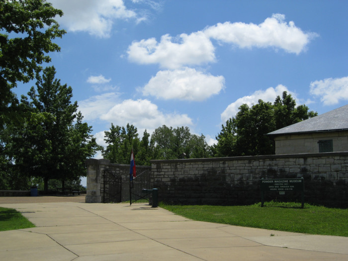 9.	Jefferson Barracks and Cemetery, St. Louis