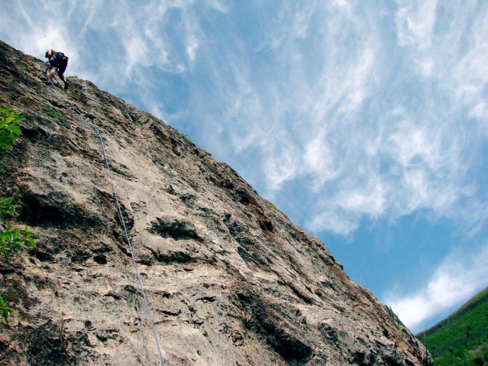 12. And rock climbing.