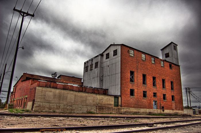 13. An abandoned power plant in Cheyenne.