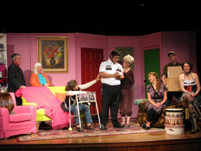4. Laugh the evening away at Rainbow's Comedy Playhouse.
