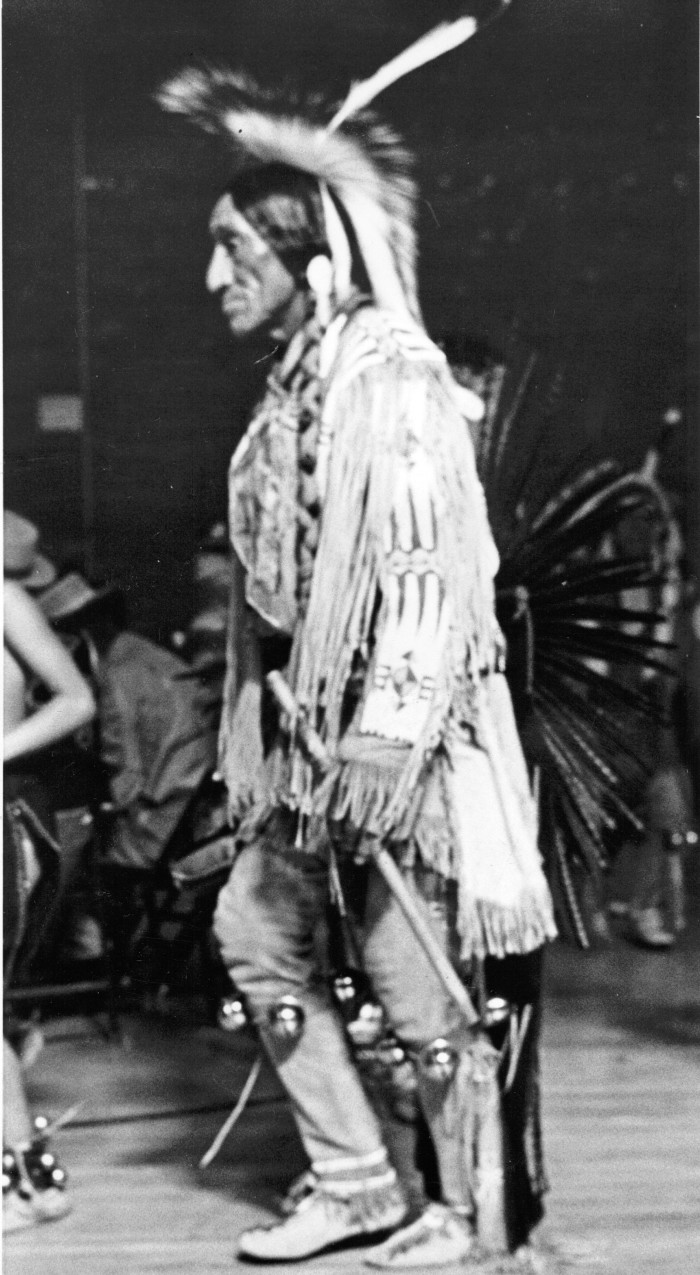 This is Theodore White of the Omaha Indian Reservation.