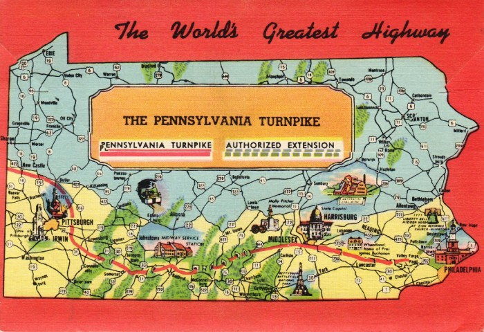 "10. ""The Pennsylvania Turnpike: The World's Greatest Highway"""
