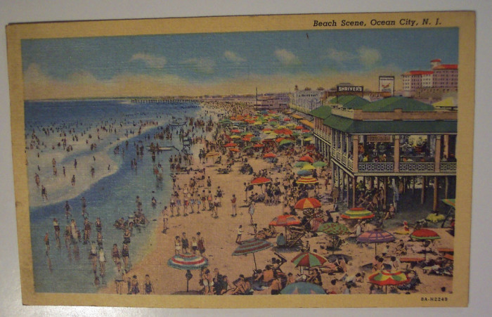 25. Look closely and you can see Shriver's. Ocean City circa 1938.