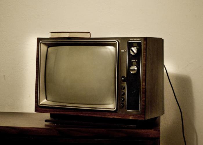 9. Colored TV