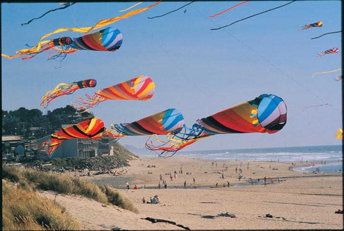 Kite festival.