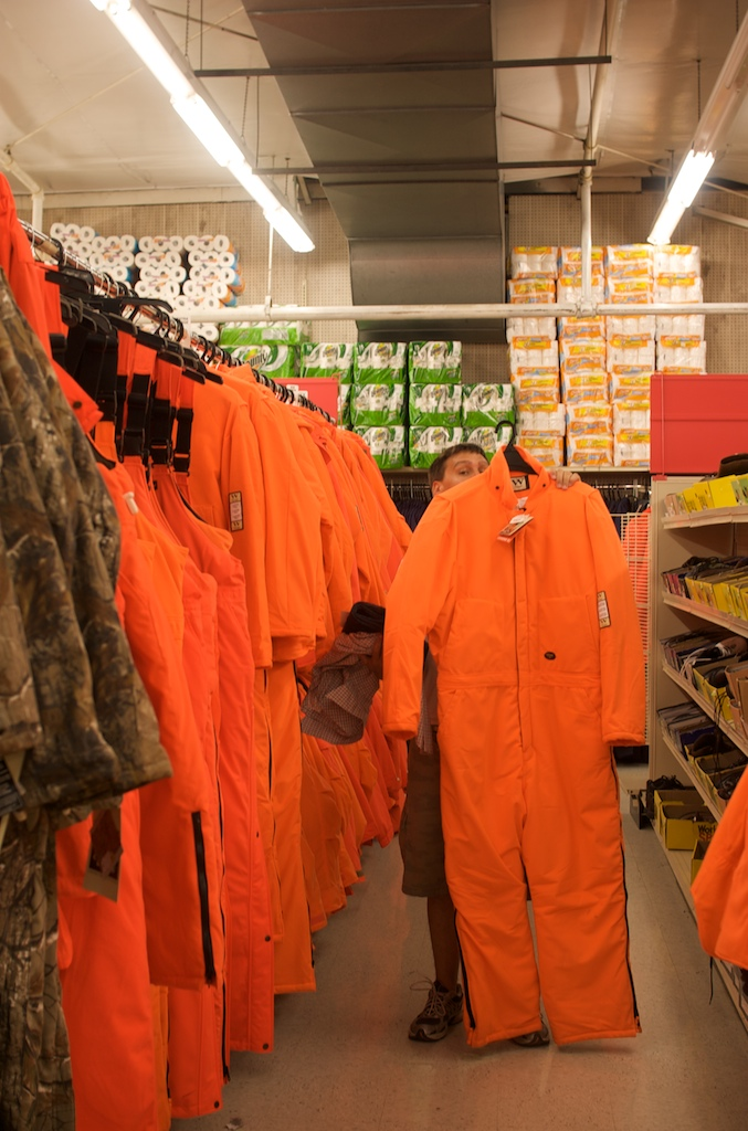 6. You are used to seeing hunting clothes worn everywhere - not just for their actual purpose.