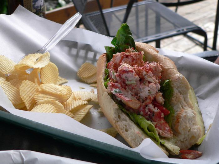 8. All we eat are lobster rolls.