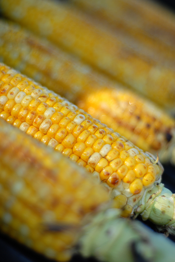 8. We'll take corn on the cob grilled or boiled.