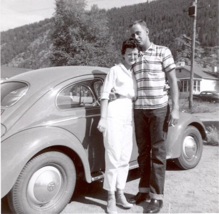 """16. """"My Parents in 1958 - Idaho Springs, Colorado."""""""