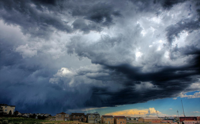 13. Colorado's incredibly beautiful storms put everyone's lives in danger.