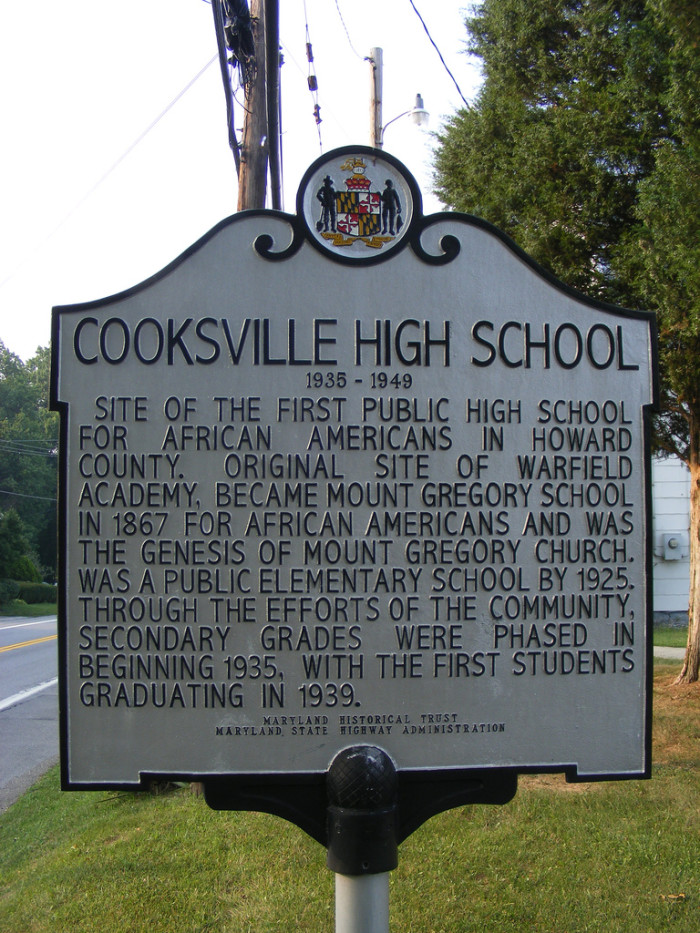 8. Cooksville, Howard County