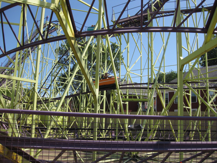6. Riding all the classic, former rides at Cedar Point Amusement Park like WildCat (pictured.)