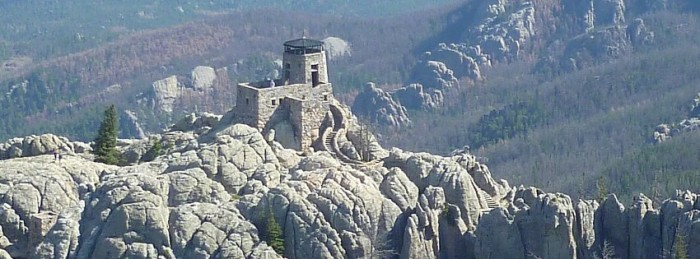 harney peak trail top
